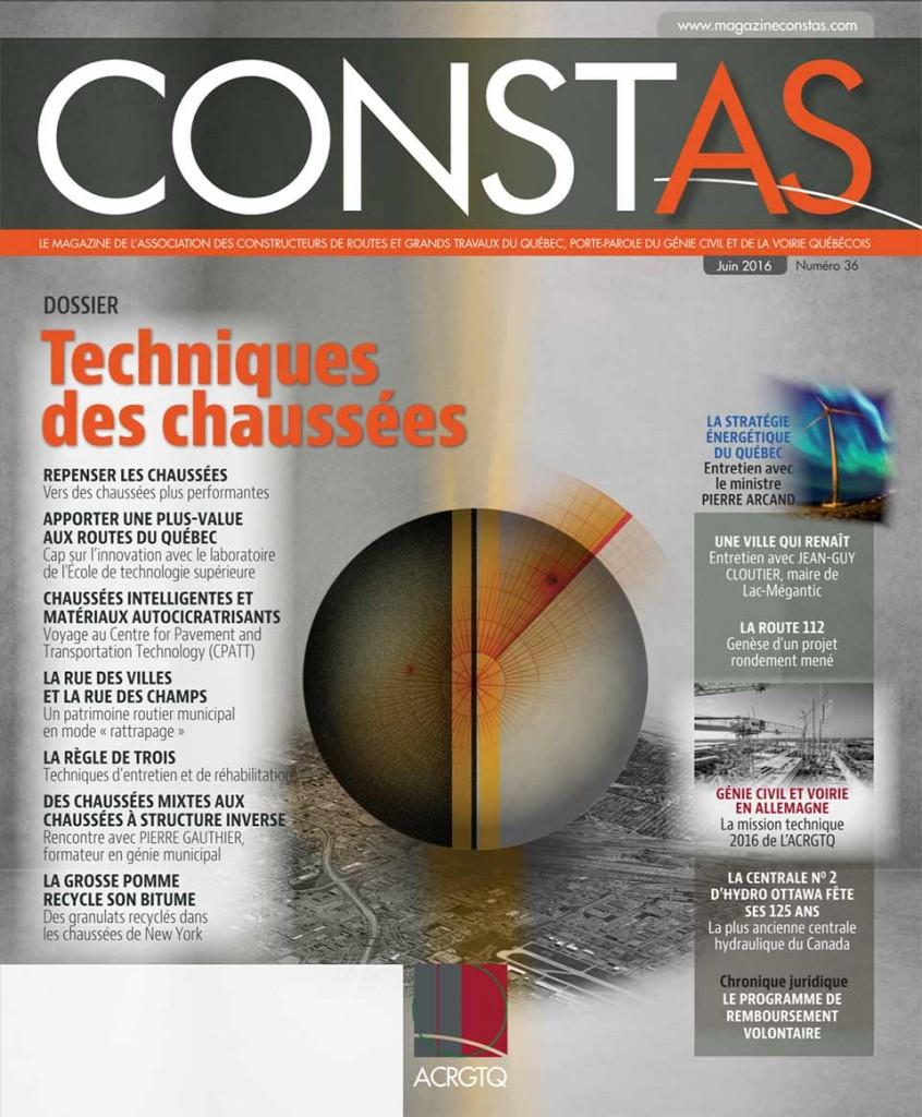 """Lire le Dossier """"Techniques des chaussées dans le journal """"Constas"""""""